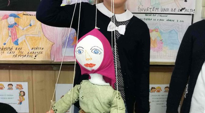"""Pantins pour l'inclusion/Puppetry for Inclusion"" at Râṣeṣti School – Ghermănești School ""Prof. I. Dănilă"" (Vaslui County, Romania)"