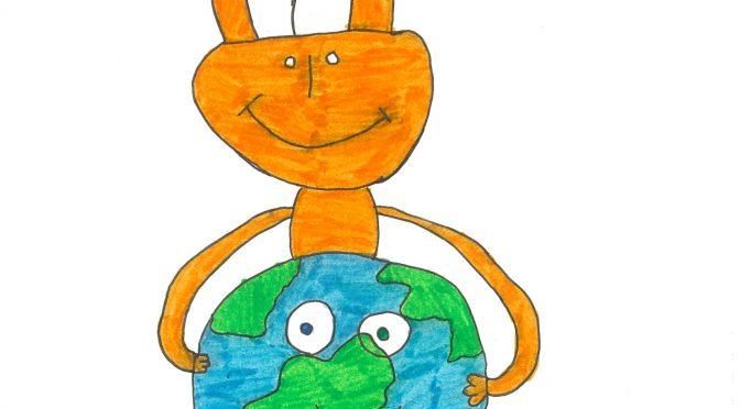 A.E. de Vialonga: Ecologie & solidarité avec pantins