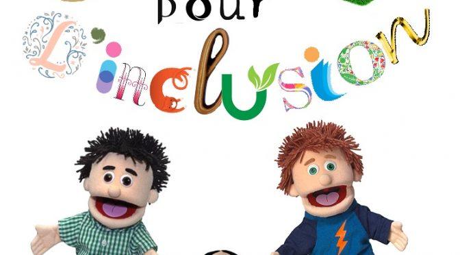 Leçon de français avec pantins