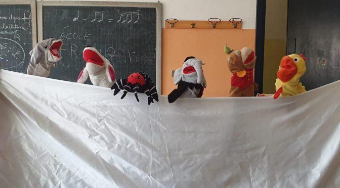 Scuola Media Frosinone 3: le français par des pantins !