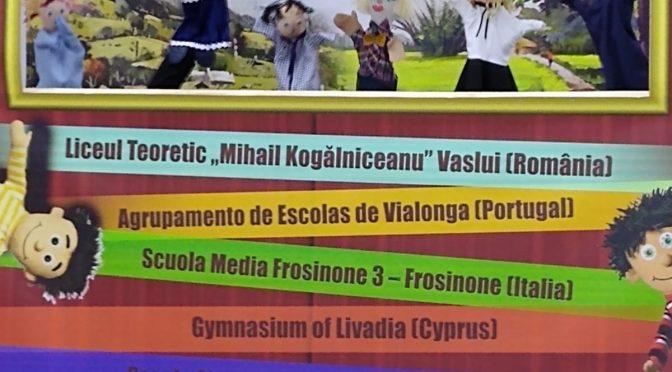 28-11-2019 – 1ère Journée Internationale des Professeurs de Français dans le département de Vaslui (Roumanie)