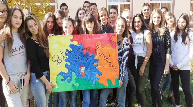 DEOR – Activité au Lycée Technologique de Tismana (județ de Gorj, Roumanie)