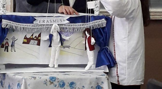 Lecție deschisă de Religie cu marionete la Școala Gimnazială nr. 1 Pungești – 19-11-2019