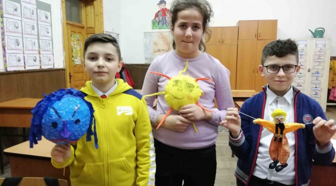 "DEOR: Social skills and values portrayed through puppetry at ""C. Sandu Aldea School"", Brăila"