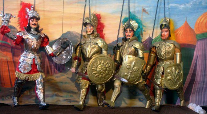 Il teatro delle marionette siciliano * Le Théâtre de marionnettes sicilien